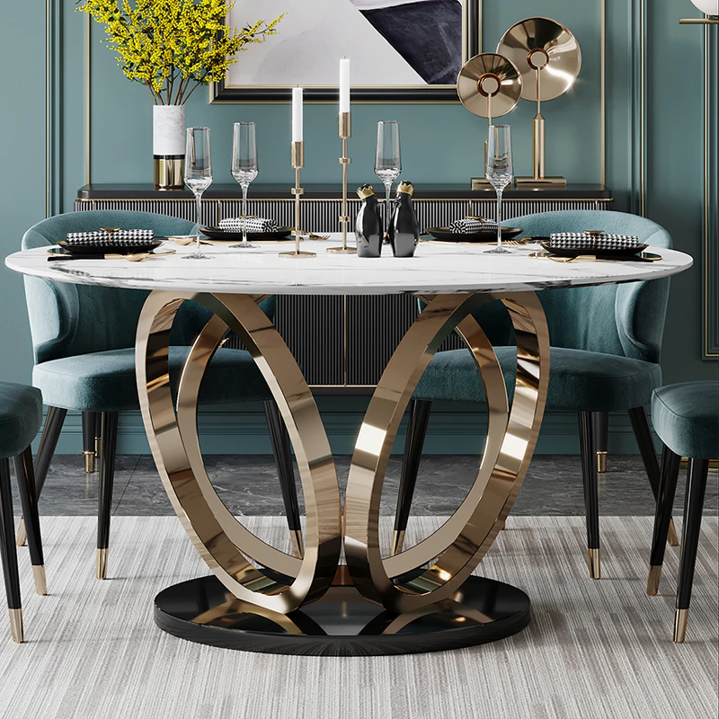 Spisebord i marmor Din marmor butikk